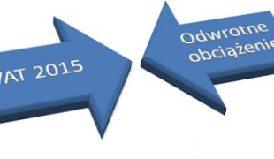 VAT 2015 odwrotne obciążenie