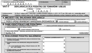 deklaracja VAT w mKsiegowa.pl