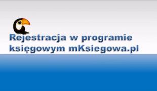 rejestracja w serwisie mKsiegowa.pl