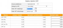 Różne daty VAT naliczonego i należnego